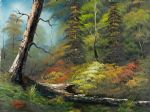 bob ross original paintings - indian summer by bob ross