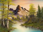 bob ross mountain splendor 86093 painting