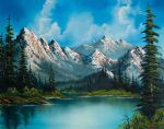 natures grandeur by bob ross paintings