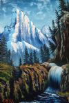 bob ross royal majestic painting