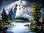 bob ross sun after rain painting