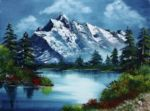 bob ross take a breath barbara teller painting