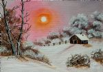 bob ross warm winter day after 86151 posters