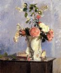 camille pissarro bouquet of flowers painting 77730
