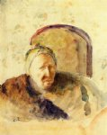 camille pissarro art - portrait of the artist s mother by camille pissarro