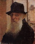 camille pissarro self portrait art
