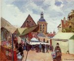 camille pissarro september celebration pontoise art