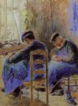 camille pissarro shoemakers painting