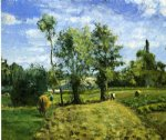 camille pissarro spring morning pontoise painting
