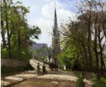 camille pissarro st. stephen s church lower norwood painting