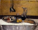 still life by camille pissarro painting