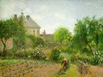 camille pissarro the artist s garden at eragny oil paintings