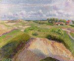 camille pissarro the dunes at knocke belgium ii painting