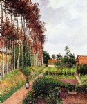 camille pissarro the field by the ango inn varengeville prints