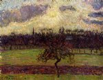 camille pissarro the fields of eragny the apple tree painting 36410