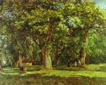 camille pissarro watercolor paintings - the forest by camille pissarro