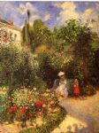 camille pissarro the garden at pontoise 1877 posters