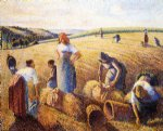 camille pissarro the gleaners painting