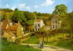 camille pissarro the hermitage at pontoise posters