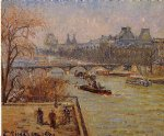 camille pissarro the louvre iii paintings