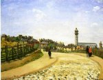 camille pissarro upper norwood chrystal palace london painting