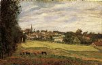 camille pissarro view of marly paintings