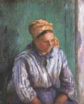 camille pissarro washerwoman study paintings