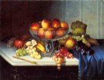 carducius plantagenet ream artwork - still life fruit and knife by carducius plantagenet ream