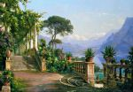 carl fredrik aagard print - lodge on lake como 2 by carl fredrik aagard