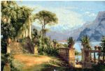 carl fredrik aagard print - lodge on lake como 3 by carl fredrik aagard