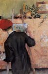carl larsson famous paintings - the still life painter by carl larsson