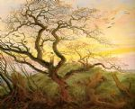 caspar david friedrich the tree of crows painting 84294