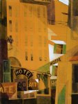 charles demuth original paintings - hotel by charles demuth