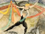 the circus by charles demuth painting
