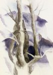 charles demuth tree forms paintings-36234