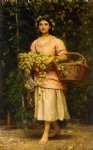the hop picker by charles edward perugini painting