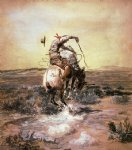 charles marion russell a slick rider painting 36035