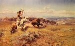 charles marion russell horse of the hunters painting 36193