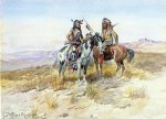on the prowl by charles marion russell art