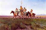 charles marion russell return of the war party painting 36119