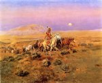 charles marion russell the horse thieves painting 36149