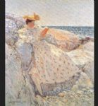 summer sunlight by childe hassam painting