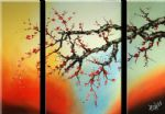 chinese plum blossom art - cpb0410 by chinese plum blossom