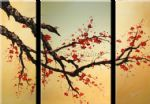 chinese plum blossom art - cpb0414 by chinese plum blossom