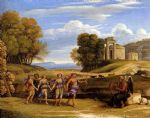 claude lorrain the dance of the seasons painting
