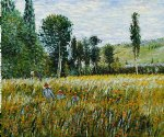 a meadow 1879 by claude monet paintings