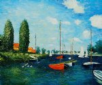 argenteuil ii by claude monet paintings