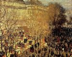 boulevard des capucines i by claude monet paintings