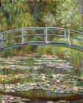 bridge over a pool of water lilies by claude monet paintings
