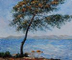 cap d antibes by claude monet paintings
